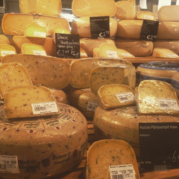 Fromage hollandais à Amsterdam