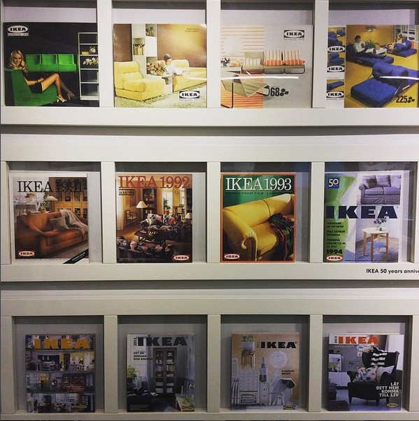 IKEA catalogues