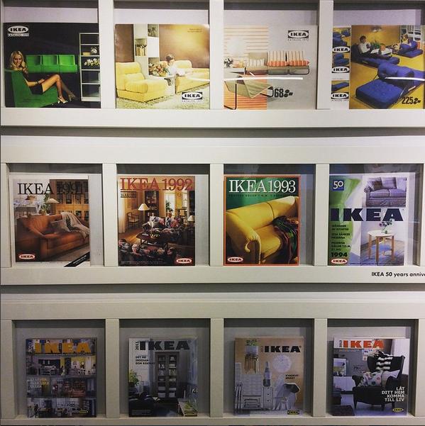 IKEA catalogues