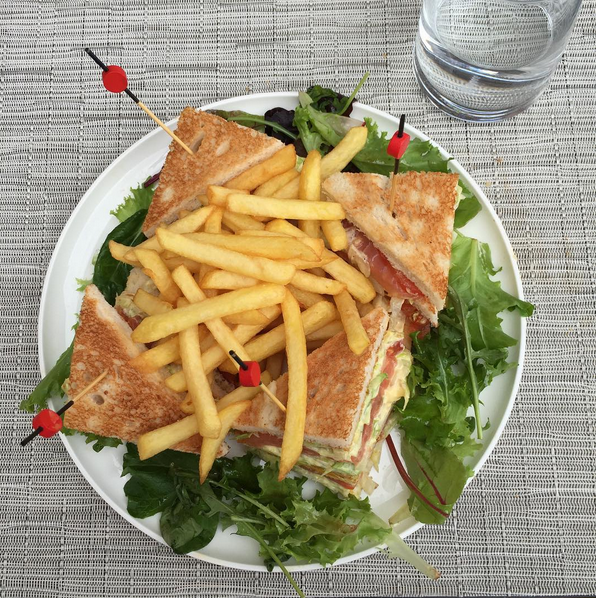 Castelbrac club sandwich