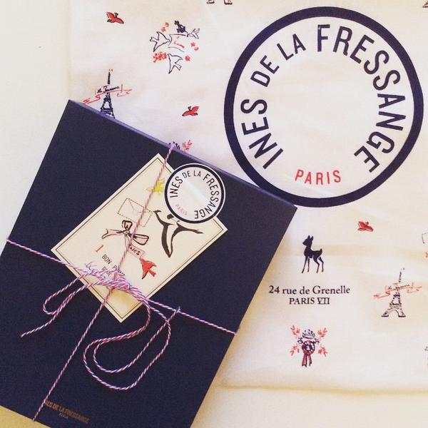 carnet parisien Inès de la Fressange