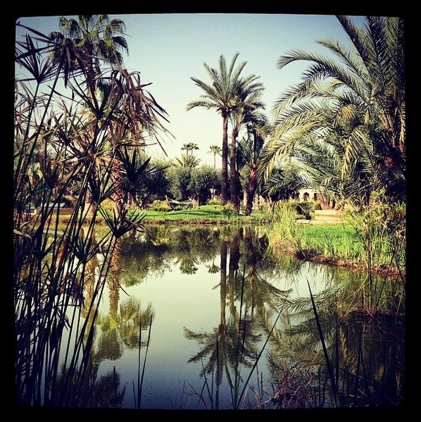 Jardin du Palais Namaskar