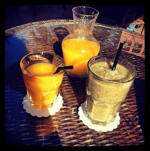 Café de la Poste quartier Gueliz Marrakech