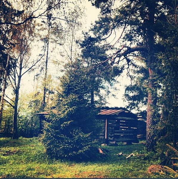 Skansen maisons en bois Stockholm