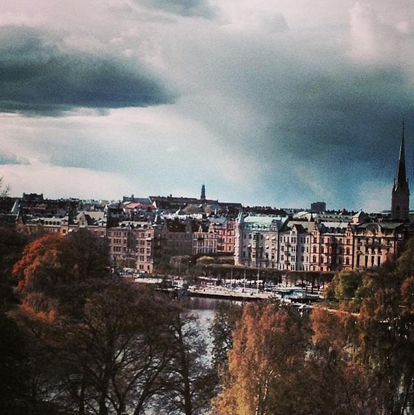 vue sur stockholm de skansen