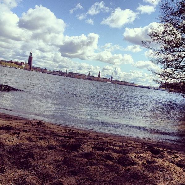 la plage à stockholm