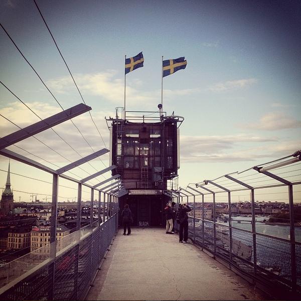 katarinahissen passerelle à stockholm