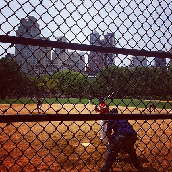 terrain baseball new york central park