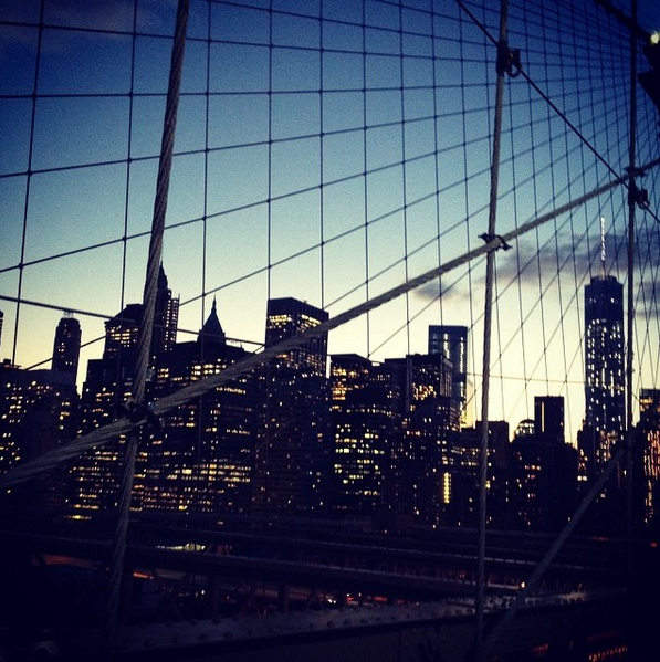 brooklyn bridge à new york la traversée
