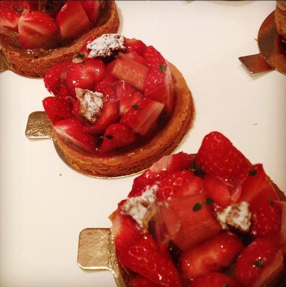 tarte aux fraises gâteaux thoumieux