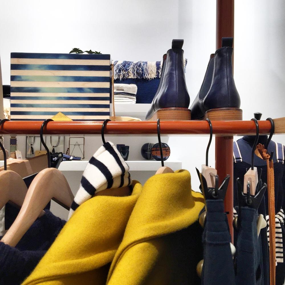 Boutique pop up store deco mode Sessùn 34 rue de Charonne