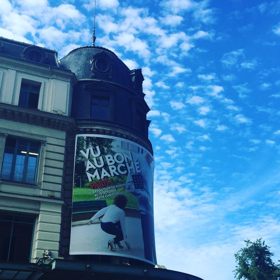 Expo Paris Le Bon Marché