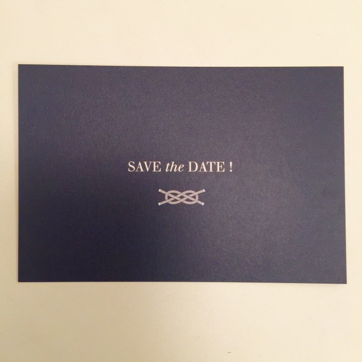 SAVE the date mariage atelier rosemood