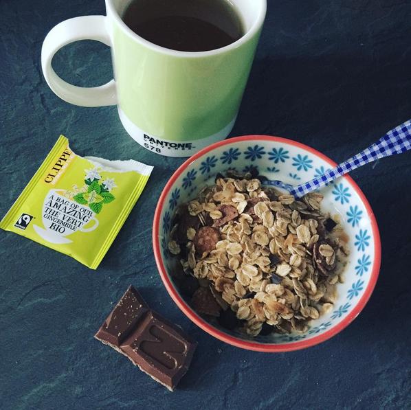 porridge et muesli bjorg
