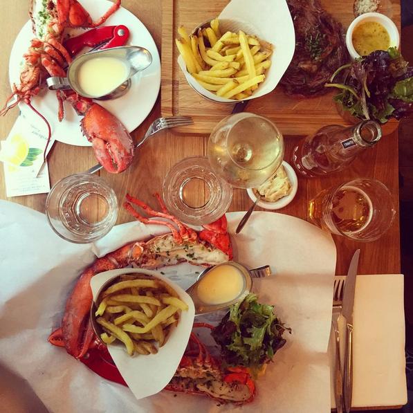 restaurant les pinces fruits de mer homard