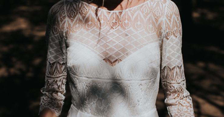 robe de mariée lorafolk 2018 modèle Aida