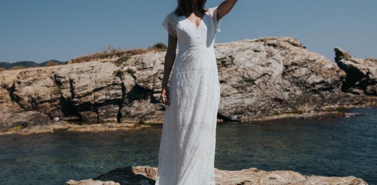 robe de mariée lorafolk 2018 modèle Iris