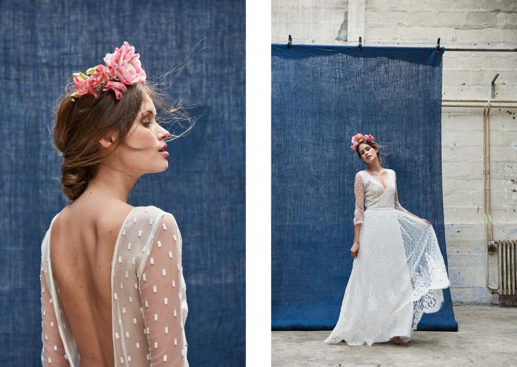 robe de mariée sidonie floret modèle kent